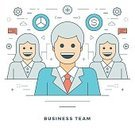 Infographic,Meeting,Occupation,Women,Backgrounds,Businessman,Single Object,Partnership,user,Web Page,Wealth,Technology,apps,Teamwork,Computer Graphic,Illustration,Business,Vector,People,Symbol,Sign,Straight