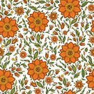Pattern,Seamless,Floral Pattern,Flower,Backgrounds