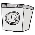 Machinery,Clothing,Appliance,Freshness,Washing Machine,Lifestyles,Technology,Dry,Housework,Domestic Life,Illustration,Doodle,No People,Vector,Electricity