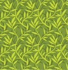 Leaf,Pattern,Seamless,Backgrounds,Green Color,Plant,Floral Pattern,Vector,Swirl,Ilustration,Wallpaper Pattern,Design Element,Vector Backgrounds,Nature Backgrounds,Nature,Illustrations And Vector Art