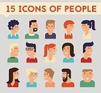 Business,Businessman,Sign,Manager,Material,Men,Symbol,user,Human Face,People,Illustration,Women,Cute,Avatar,Vector