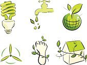 Footprint,Carbon,Green Color,Built Structure,Earth,Interface Icons,Globe - Man Made Object,Tree,Environmental Conservation,House,Running Water,Planet - Space,Drinking Water,Computer,Symbol,Nature,Residential Structure,Building Exterior,Watering,Plant,Leaf,Vector,Wind Turbine,Computer Icon,Light Bulb,Ilustration,Stroke,Sphere,Design Element,Style,Alternative Energy,Arts Symbols,Vector Icons,Water Drop,Arts And Entertainment,Nature Friendly,green environment,Clip Art,Set,Illustrations And Vector Art