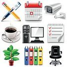 Chair,Computer,Paper,Inside Of,Business,Coffee Break,Working,Pencil,Calendar,Office Worker,Document,Teamwork,Cup,Achievement,Surveillance,Plant,Office Building,Office Supply,Symbol,Collection,Set,Clip Art,Illustration,Photo-Realism,Isolated,Pen,Vector,Businessman,Icon Set,Coffee Cup,Contact Lens,Plan,Coffee - Drink,Camera - Photographic Equipment,Notebook