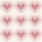 Abstract,No People,Illustration,Heart Shape,Decoration,Backgrounds,Vector,Design,Pattern