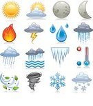 Weather,Computer Icon,Tornado,Fire - Natural Phenomenon,Sun,Moon,The Four Elements,Thermometer,Temperature,Cold - Temperature,Wind,Snowflake,Flood,Design Element,Rain,Heat - Temperature,Icicle,River,Cloud - Sky,Flame,Climate,Sunlight,Vector,Cumulonimbus,Curve,Fog,Storm,Nature,Lightning,Meteorology,Raindrop,Moon Surface,Frozen,Snowing,Cloudscape,Forecasting,Overflowing,Leaf,Torrential Rain,Nature,Illustrations And Vector Art,Nature Symbols/Metaphors,Vector Icons,Forked Lightning,icons set