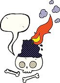 Bizarre,Candle,Book,Drawing - Activity,Halloween,Burning,Cultures,Cute,Witch,Comic Book,Illustration,Group Of Objects,Doodle,Vector,Freehand,Clip Art