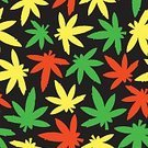 Decoration,Ornate,ganja,Grass,Multi Colored,Backgrounds,Vector,stoned,Red,Addiction,420,Illustration,Rastafarian,Seamless,Symbol,Yellow,Pattern,Nature,Leaf,Legal System,Legalization,Narcotic,Hashish