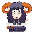 Sheep,Illustration,Design,Colors,Square,Square Shape,Symbol,Cartoon,Vector,Fun,Drawing - Art Product,Zoo,Wildlife,Computer Graphic,Label,Ram - Animal,Nature,Humor,Image,Flat,Animal,Black Color,Characters,Mammal,Sign,Set,Livestock,Shape,Computer,Cute,Lamb,Pets,Computer Icon,Shiny,Single Object,Animal Head,Abstract,Animal Eye,Domestic Animals,Smiling,Human Face,Wool,Farm