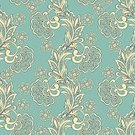 Backgrounds,Pattern,Seamless,Vector,Flower,Floral Pattern,Decoration,Silk,Paisley Pattern