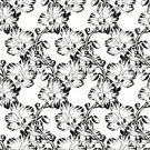 Summer,Botany,Petal,Decoration,Leaf,Vector,Orchid,Pattern,Brazil,Nature,Illustration,Computer Graphic,Season,Seamless,Creativity,Doodle,Ornate,Ink,Branch,Flower Head,Decor,Drawing - Activity,Backgrounds