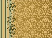 Pineapple,Brocade,Pattern,Flower,Old-fashioned,Gold Colored,Backgrounds,Symbol,Frame,Striped,Baroque Style,Elegance,Design,Antique,Rococo Style,Classic,Wallpaper Pattern,Art,Ornate,Luxury,Flower Head,Repetition,Leaf,Decoration,Symmetry,Composition,conventional,Wrapping Paper,Art Product,Arts And Entertainment,Vector Ornaments,Illustrations And Vector Art