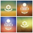 Vector,Sun,Enjoyment,Shiny,Decoration,Beach,Backgrounds,Flyer,Invitation,Urban Skyline,Seascape,Summer,Illustration,Nature,Creativity,Sunset,Greeting,Badge,Label,Computer Graphic,Ornate,typographic,Sea,Vacations,Exploration