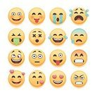 Emoticon,White,Crying,Happiness,Isolated,Cheerful,Vector,Symbol,Computer Icon,Smiling,Sullen,Human Tongue,Mascot,Clip Art,Smiley Face,Color Gradient,Joy,Laughing,Love,Displeased,Internet,Kissing,Human Face,Yellow,Humor,Emotion,Lol,Cartoon,People,Depression - Sadness,Facial Expression,Facial Mask - Beauty Product,Fun,Characters,Sulking,Sticking Out Tongue,Cute,Grief,Message,Heart Shape,Lipstick Kiss,Furious,Discussion,Set,Flat,Illustration