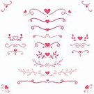 Heart Shape,Flower,Growth,Divider,Vector,Frame,Isolated,Love,Decoration,Red,Symbol,Set,Swirl,Romance,Doodle,Flourish,Wreath,Curly Hair,White,Valentine Card,Greeting,Single Line,Wedding,template,Computer Graphic,Garland,Art,Design Element,Decor,Elegance,Holiday,Beautiful,Celebration,Backgrounds,Pink Color,Ornate,Day,Calligraphy,Valentine's Day - Holiday,Invitation,Cute,Greeting Card,Party - Social Event,Design,Old-fashioned,Beauty,Retro Styled