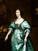 History,Queen,Art,Fine Art Portrait,Portrait,Royalty,Image Created 17th Century,English Culture,Evening Gown,Dress,Henrietta Maria,British Culture,Engraved Image,Royal Person,Princess,17th Century Style,People,Silk,Arts And Entertainment,Ilustration,Colors,Vertical,Color Image,Wealth,Illustrations And Vector Art