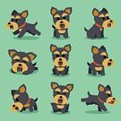 bleed,Animal,Happiness,Cartoon,Characters,Design,Cute,Collection,Isolated,Purebred Dog,Smiling,Tail,Vector,Sitting,Sign,Posing,Running,Action,Yorkshire,Humor,Computer Graphic,Group of Objects,Friendship,Flat,Illustration,Design Element,Emotion,Animal Head,Dog,Sleeping,Standing,Terrier,Simplicity,Set,Pets,Puppy,Nature