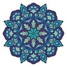 East Asian Culture,Painted Image,Blue,Multi Colored,Decoration,Abstract,Ornate,Turquoise Colored,Vector,Single Object,Print,Persian Culture,Isolated On White,Design Element,Circle,Purple,Snowflake,Turkish Culture,Winter,Mandala,Lace - Textile,Illustration,Geometric Shape,Image,Isolated,Indian Culture,Pattern