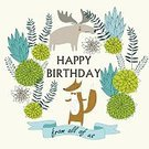 Child,Baby,Elegance,Humor,Retro Styled,Deco - Soccer Player,Flower,Background,Banner,Fox,Plant,Animal,Cute,Greeting Card,Old-fashioned,Ribbon,Cartoon,Congratulating,Animals In The Wild,Illustration,Nursery - Bedroom,Greeting,Birthday,Poster,Fashion,Banner - Sign,Woodland,Elk,Decoration,Art Deco,Forest,Part Of,Backgrounds,Arts Culture and Entertainment,Tree,Vector,Design,Blue,Flourish,Green Color