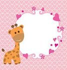 Backgrounds,Young Animal,Beautiful,Beauty In Nature,Giraffe,Arrival,Public Speaker,In A Row,Small,Baby,Hanging,Baby Girls,Cute,Birthday,Image,Greeting,Invitation,Striped,Newborn,Pattern,Design,Greeting Card,Boys,Celebration,Congratulating,Daughter,New Life