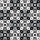 Cultures,Decoration,Seamless,Pattern,Mosaic,Symbol