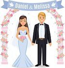Wife,Flower,Caucasian Ethnicity,Beauty,Cheerful,Bouquet,Romance,Bridegroom,Married,Young Adult,Love,Silhouette,Cartoon,Family,Togetherness,Human Face,Flirting,Portrait,Females,Ceremony,Kissing,Adult,Celebration,Men,Dating,Couple - Relationship,Husband,White,Beautiful,Two Parents,Vector,Illustration,Bride,Women,Dress,Happiness,Wedding,Smiling,Heterosexual Couple,Girls,Engagement,Suit,Veil,Wedding Ceremony,Two People,Day,Males,People