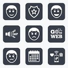 Fun,People,Laughing,Emotion,Sadness,Crying,Paying,Calendar,Cute,Human Face,Sign,Application Software,Vector,Wireless Technology,Pager,Badge,Shape,Symbol,Label,Token,ROFL