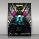 Music,Fashion,Dancing,Disco,Illustration,Nightclub,Abstract,Club Dj,Banner,Symmetry,Circle,Modern,Computer Graphic,Design,Event,Night,Vector,Paper,Triangle Shape,Rhombus,Party - Social Event,Printout,Geometric Shape,Black Color,Flyer,template,Poster,Invitation,Decoration,Backgrounds