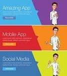Backgrounds,Telephone,Men,Women,Customer,apps,Ux,UI,Paying,Application Software
