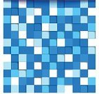 Shape,Brick,Computer Graphic,Pixelated,Mosaic,Backgrounds,Vector,Abstract,Space,Futuristic,Blue,Multi Colored,Geometric Shape,Illustration,template,Creativity,Single Object