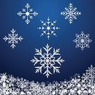 Group of Objects,Weather,Holiday,Design Element,Decoration,White,Ice,Symbol,Computer Icon,Crystal,Christmas Ornament,flakes,Snowing,Collection,Silhouette,Season,Nature,Cold - Temperature,Merry Xmas,Paintings,Winter,Snowflake,Vector,Snow,Blue,Christmas,Star Shape,Set,Variation,Decor,Blizzard,Celebration,Isolated,Abstract,Frost,Frozen