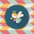 Celebration,Computer Graphics,Cupid,Day,Angel,Catholicism,Template,Christmas,Illustration,Shape,Cherub,Symbol,Flying,Winter,Computer Graphic,Decoration,Gift,Season,Backgrounds,Decor,Vector,Religious Symbol