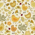 Multi Colored,Flower,Butterfly - Insect,Textile,Silk,Drawing - Art Product,Retro Styled,Seamless,Brown,Posing,Ladybug,Hen,Foul,Cotton,Yellow,Composition,Abstract,Ornate,Orange Color,Pattern,Image,Vector,Design Element,Paper,Design,Decoration,Bird,Illustration,Green Color,Bee,Chicken - Bird,Beige,Decor,Cute,Characters,Cartoon