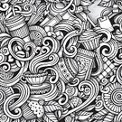 Abstract,Bean,Coffee - Drink,Espresso,Tea - Hot Drink,Menu,Latte,Teapot,Doodle,Computer Graphic,Retro Styled,Old-fashioned,Coffee Shop,Intricacy,Pattern,Backgrounds,Line Art,Sweet Food,Coffee Break,Lemon,Grunge,Restaurant,Crockery,Plate,Bakery,Cafe,Cup,Cappuccino,Breakfast,Cake,Drink,Heat - Temperature,Design Element,Leaf,Decor,Food,Decoration,Pencil Drawing,Tile,Seamless,Vector,Tracing,Sugar,Afternoon Tea,Drawing - Art Product,Single Object,Fun,Black Color