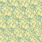 No People,Textured Effect,Art,Wallpaper Pattern,Pattern,Wallpaper,Design,Book Cover,Freshness,Positive Emotion,Ornate,Contour Drawing,Scrapbook,Seamless,Square Shape,Emotion,Outline,illustrated,Light - Natural Phenomenon,template,Backgrounds,Mint Color,Multi-Layered Effect,Full,Vegetable,Artichoke,Food,yellow color