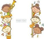 Child,Copy Space,Vertical,Cut Out,Characters,Line Art,Music,Message,Doodle,Guitar,Piano Key,Placard,Singer,Whiteboard,Empty,Cartoon,Peeking,Blackboard,Orthographic Symbol,Illustration,Advertisement,Musical Instrument,Blank,Poster,Trombone,Trumpet,Violinist,Billboard,Keyboard Player,Playing,Violin,Guitarist,Arts Culture and Entertainment,Musician,Drummer,Vector,Drum - Percussion Instrument,Empty,Text,Holding