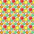 Backgrounds,Seamless,Spotted,Pattern,Red,Colors,Circle,Abstract,Watercolor Paints,Yellow