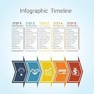 Business,Chart,Data,Abstract,Pattern,template,Symbol,Number 5,Computer Graphic,Infographic,Vector,ideographic,Illustration,Diagram