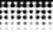 Halftone Pattern,Textured Effect,Abstract,Computer Graphic,Illustration,Circle,Textured,White,gradation,Spotted,Pattern,Black Color,Backgrounds