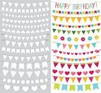 268399,268616,Copy Space,Cut Out,Anniversary,Flower,Pennant,Carnival - Celebration Event,Banner,Cute,Scrapbook,Holiday - Event,Greeting Card,Placard,Template,Cartoon,Summer,Illustration,Blank,Greeting,Birthday,Banner - Sign,Single Flower,Aubusson,Hanging,Bird,Clip Art,Decoration,Bunting,Backgrounds,Flag,Fun,Vector,Springtime,Group Of Objects,Party String,Party - Social Event,Vibrant Color,Multi Colored,White Color,Design Element,White Background