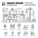 Infographic,Construction Industry,Illustration,Town,Transportation,Car,Street,Computer Graphic,Earth Mover,Road Sign,Engineer,Vector,Land Vehicle,Construction Worker,Stoplight,Stacking,coating,Sparse,Dump Truck,Steamroller,Business,Outline,Architecture,bulldoser,Symbol