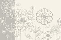 Floral Pattern,Flower,Plant,Front or Back Yard,Backgrounds,Pattern,Posing,subtle,Cute,Fun,Vector,Ilustration,Springtime,Leaf,Summer,Bleached,Nature,Holiday Backgrounds,Easter,Holidays And Celebrations,Illustrations And Vector Art,Season