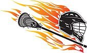 Engulf,Cut Out,Abstract,Composition,Heat - Temperature,Speed,Recreational Pursuit,Work Tool,Leisure Activity,Illustration,Leisure Games,Art Product,Lacrosse Stick,Sport,Fire - Natural Phenomenon,Sports Team,Manufactured Object,Burning,Flame,Sports Helmet,Vector,Side View,Work Helmet,Headwear,Black Color