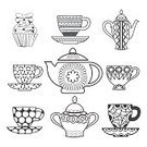 Menu Icons,Tea Icons,Drink,Breakfast,Computer Graphics,Cup,Background,Cafe,Doodle,Teapot,Book,Coloring,Tea Cup,Illustration,Food,Computer Graphic,Drawing - Activity,Morning,Backgrounds,Dessert,Page,Cake,Menu,Vector,Pattern