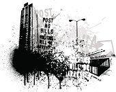 Urban Scene,City Life,City,Grunge,Dirty,Black Color,Graffiti,White,Urban Skyline,Built Structure,Sketch,Vector,Building Exterior,Hip Hop,Backgrounds,Digitally Generated Image,Abstract,Skyscraper,Street Light,Ilustration,1940-1980 Retro-Styled Imagery,Textured,Design,Spray,Arrow Symbol,Design Element,Splattered,Illustrations And Vector Art,Wallpaper Pattern,Vector Backgrounds,Copy Space