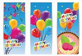 Banner,Balloon,Birthday,Shiny,Surprise,Set,Vector,Bright,Abstract,Colors,Cartoon,Creativity,Decoration,Collection,Holiday,Vibrant Color
