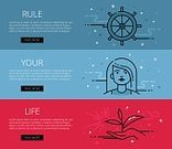 Single Line,Illustration,Outline,Straight,Lifestyles,Web Banners,Flat,tints,Blue,Woman Hand,Control,Vector,Bud,Motivation,Survival,light blue,Red,Interface Icons,Ruler,Rudder,Helm,Sun,Cloud - Sky,Steering Wheel,Human Hand