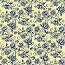 Rose - Flower,Pattern,Old-fashioned,Seamless,Flower,Floral Pattern,Backgrounds,Bouquet,Vector,Ilustration,Wallpaper Pattern,Leaf,Curve,Elegance,Arts And Entertainment,Vector Florals,Nature,Arts Backgrounds,Style,Ornate,Curled Up,Decor,Illustrations And Vector Art