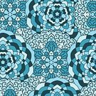 Pattern,Mandala,Islam,repeatable,Seamless,Vector,Tablecloth,indefinite,Illustration,Infinity,Backgrounds,Blue,Continuity,Decoration,Textile,Eternity,Backdrop
