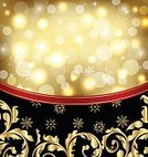 Celebration,Decoration,Congratulating,Backgrounds,Packing,Package,Christmas Ornament,New Year,Winter,Cultures,Design Element,Holiday,Book Cover,template,Christmas,Floral Pattern,Textured,Pattern,Vector,Symbol,Merry Xmas,Holly,Wallpaper Pattern,Eve - Biblical Character,Gold Colored,Flourish,Snowflake,Frame,Backdrop,Leaf,Glowing