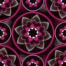 Vector,Cultures,Sign,Seamless,Pattern,Geometric Shape,Pointillism,Backgrounds,Arabic Style,Creativity,Design Element,Wallpaper Pattern,template,Computer Graphic,Drawing - Art Product,White,Pink Color,Illustration,Mosaic,Mandala,East Asian Culture,Oriental,Symbol,Ethnic,Indigenous Culture,Ornate,Decoration,Shape,Symmetry,Circle,Repetition,Part Of,Color Swatch,Decor,Posing,Indian Culture,Black Color,Abstract